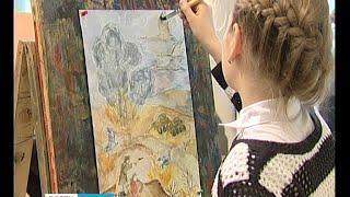 Журавли вдохновили детей на написание картин