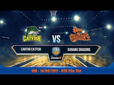#Livestream VBA 2017 ||  Game 7: Cantho Catfish vs Danang Dragons  | 14/09