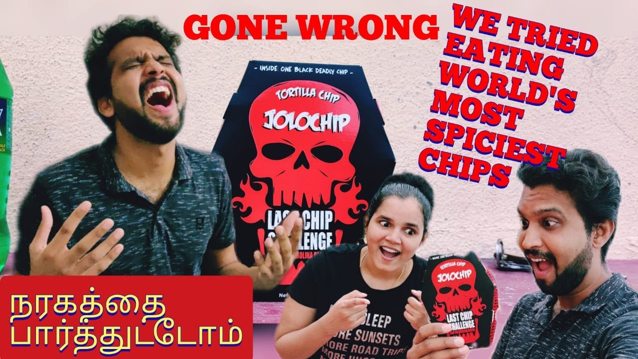 WORLD'S HOTTEST JOLO CHIP EATING CHALLENGE | HELL INSIDE THE PACK | Adi and mahi