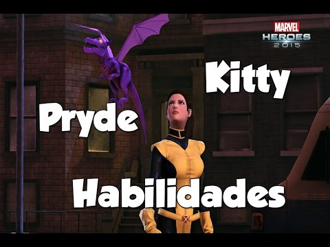 Kitty Pryde habilidades Marvel Heroes