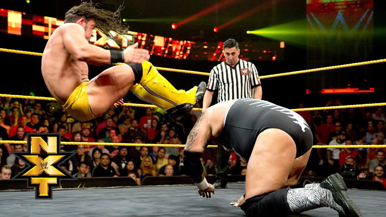 adrian neville vs brodus clay no disqualification match wwe nxt