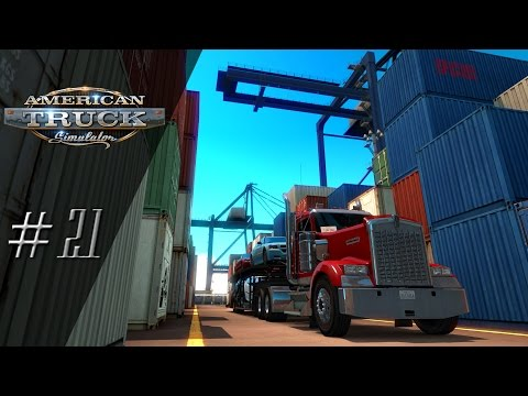 'Lets Play' American Truck Simulator - Shipyard Delivery - #21
