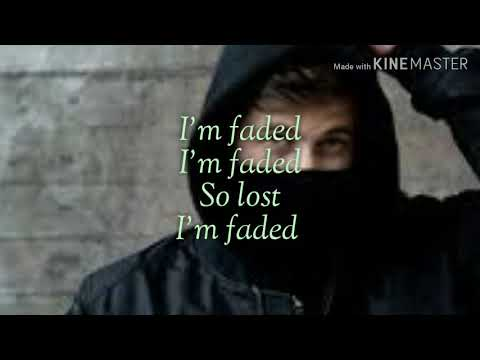 Faded (Where are you now) -(Lyrics)