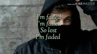 Alan Walker - Faded (Where are you now) - Lyrics