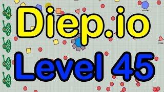 Diep.io максимальная прокачка танка.  Max Level Tank 45 Lvl(Я снова играю в онлайн игру Diep io. Танки Diep io игра на каждый день. Сегодня я прокачал свой танк максимально,..., 2016-05-24T17:15:24.000Z)