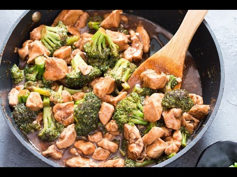 15 Minutes Chicken And Broccoli Stir Fry