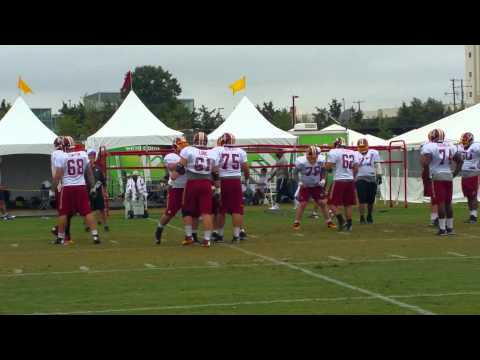 Redskins Offensive Line 2015