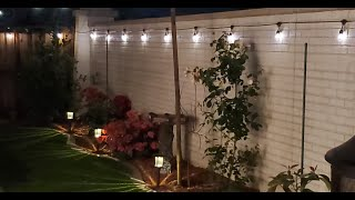 Brightech Ambience Pro Solar Powered 48 Foot LED String Lights Unboxing & Review
