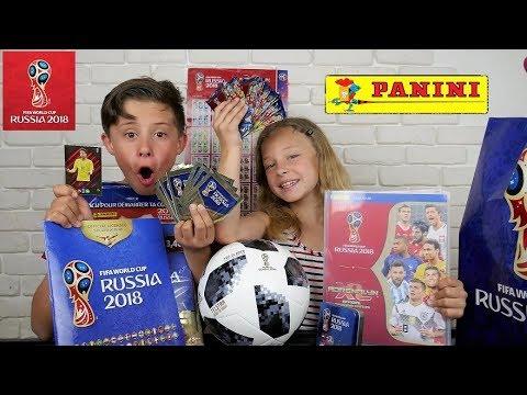 coupe du monde de foot 2018 la collection panini youtube