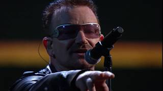 """U2 performs """"Beautiful Day"""" at the 25th Anniversary Concert"""