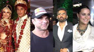 Many Bollywood Celebs Attended The Prince Narula & Yuvika Chaudhary's Wedding Ceremony