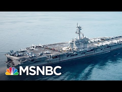 Thumbnail: Fleet Donald Trump Sent To Korea Not Actually There | All In | MSNBC
