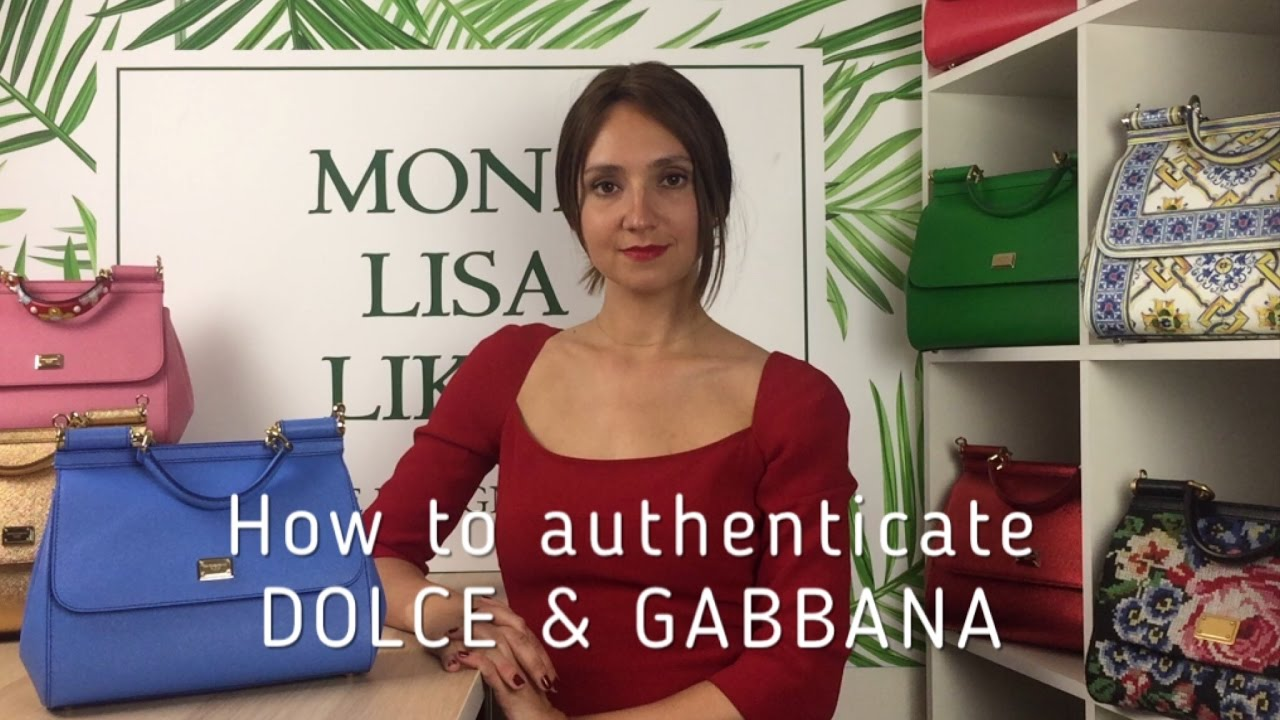 bfaa07b1bab9 How to spot FAKE vs AUTHENTIC Dolce   Gabbana Miss Sicily Bag Handbag Purse  Monalisalikes - part 1
