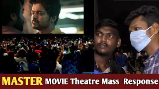 Master Movie Mass Theatre Response From Thalapathy Fans  | Lokesh Kanagaraj