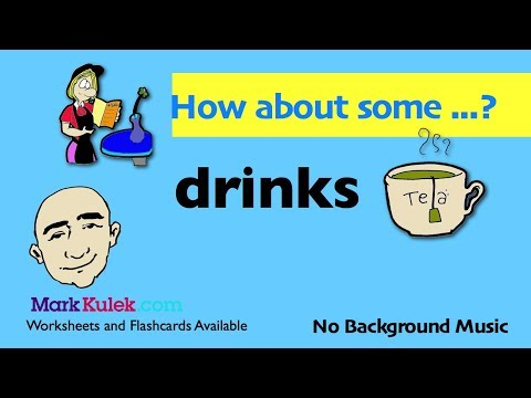 How About Some ... ? - Drinks Vocabulary   Offering a Drink   English Speaking Practice   ESL