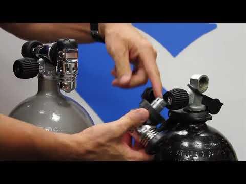 Motor City Scuba | DIN vs Yoke tank connection