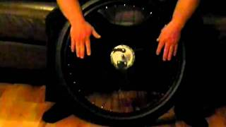 Custom built wheel for motorized bicycles by BlowByU