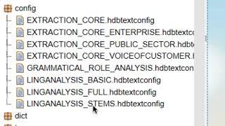 SAP HANA Academy - Text Analysis in XSA: Linguistic Analysis : Setup [2.0]