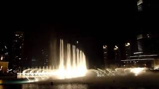 Dubai Fountain - 'Enta Omri' II HD