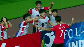 Korea Republic 1-1 Australia (AFC U19 Indonesia 2018 : Group Stage)