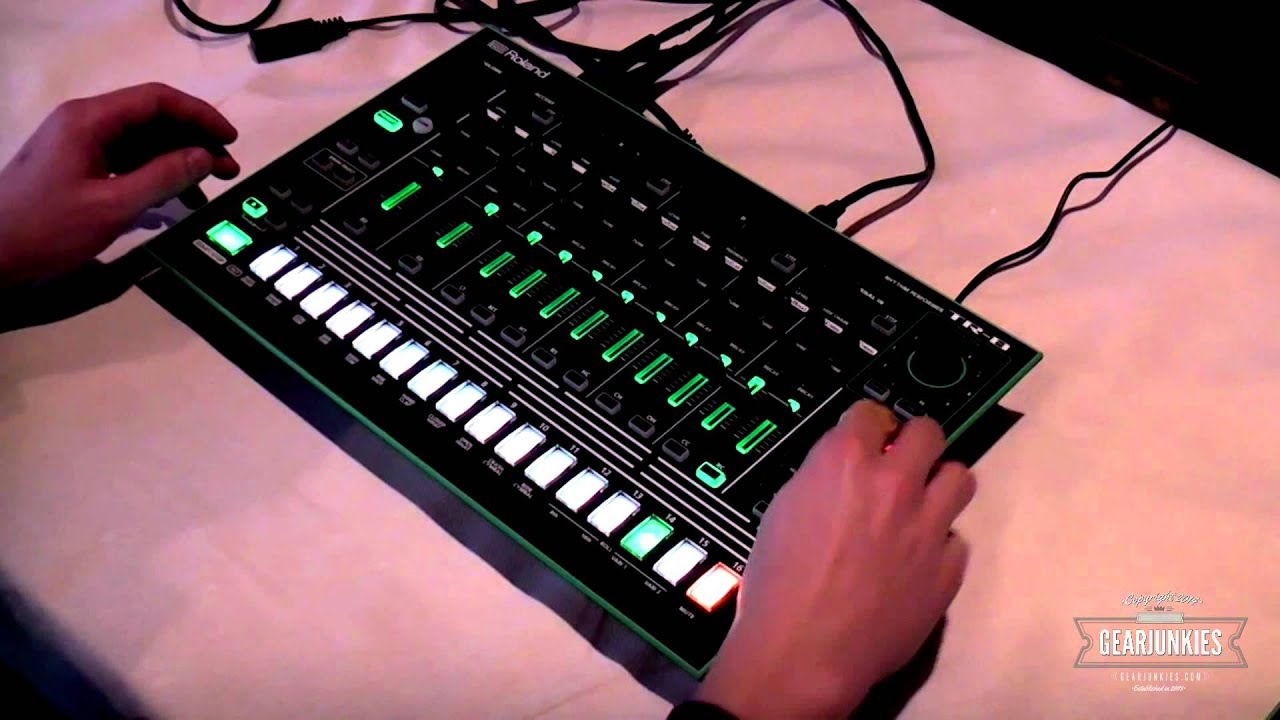 roland aira series tr 8 drum and bass instrument youtube. Black Bedroom Furniture Sets. Home Design Ideas