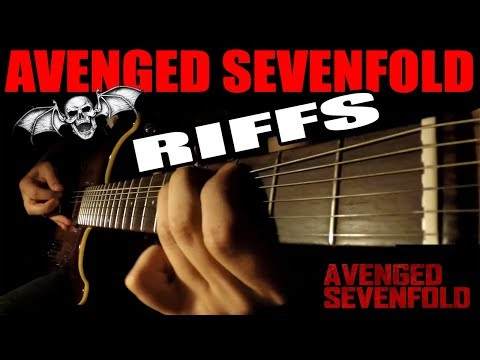 TOP10 AVENGED SEVENFOLD RIFFS