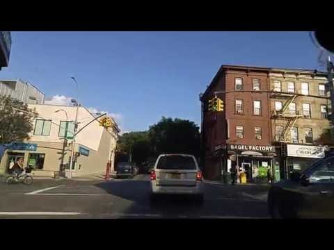 Driving by Park Slope Brooklyn,New York