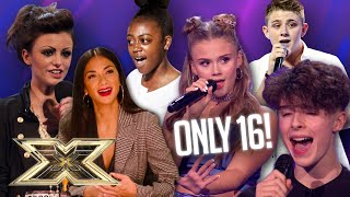 SUPER TALENTED TEENAGERS! Incredible performances from 16 YEAR OLDS! | The X Factor UK