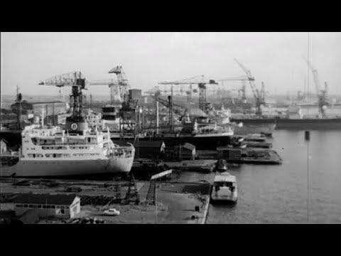 1945-1961: De NDSM werf, honderd schepen in het IJ - oude filmbeelden