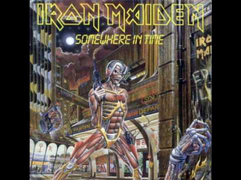 Somewhere in time iron maiden album cover