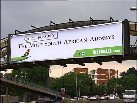 SAA Not Impressed With Kulula's New Ad