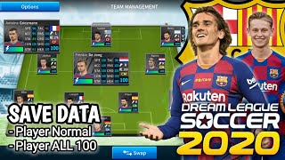 Save data barcelona team dream league soccer 2019/2020 full player transfer musim panas video ini tentang pemain club fc soc...
