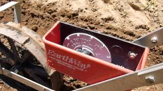 Earthway Push Planter Precision Garden Seeder and How to Plant Radishes