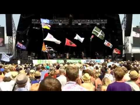The Temper Trap - Drum Song Live at Glastonbury 2010