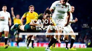 Top 10 Rugby Try's