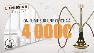 ON FUME SUR UNE CHICHA A 4 000 €  😮💨