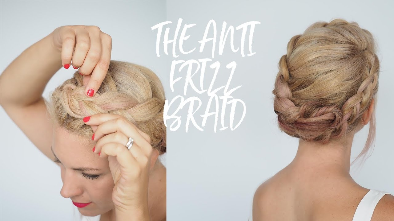 anti-frizz braid tutorial - humid weather hairstyles