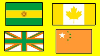 Countries That Don't Exist - Fun with Flags