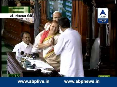 BJP MP Sumitra Mahajan elected Lok Sabha Speaker unanimously Mp3
