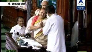 BJP MP Sumitra Mahajan elected Lok Sabha Speaker unanimously