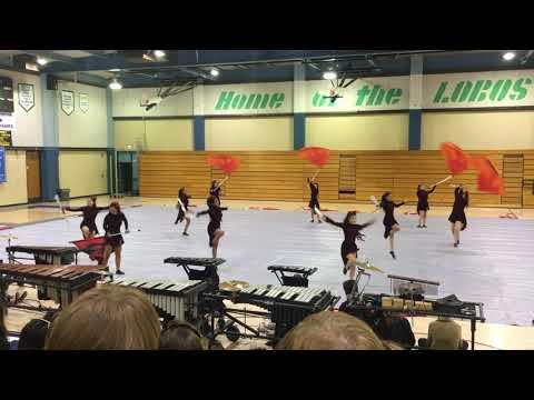 Littlerock High School Winter Guard Spring Concert Performance
