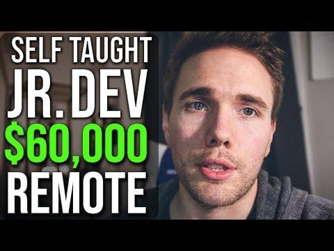 Self Taught Jr. Developer - $60,000 Year REMOTE  #grindreel