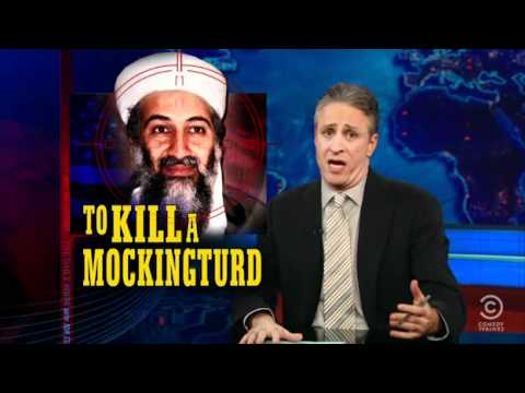 Jon Stewart on Osama Bin Laden killing in Pakistan