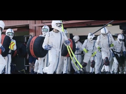 Inside the Formula One pit stop with Williams