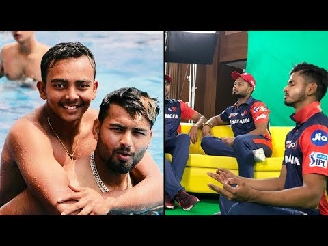 Delhi Daredevils 2018 I Inside Dressing Room | Vivo Ipl Funny videos
