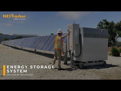 NX Flow Integrated Energy Storage System Installation
