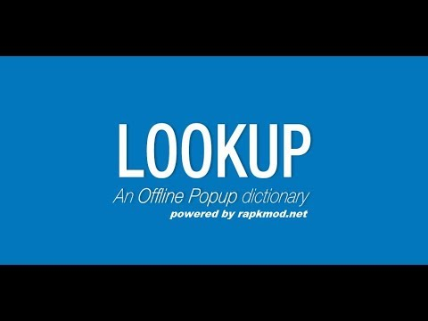 Best Offline Pop Up Dictionary For Android Mobile  BY INCOGNITO