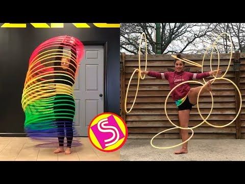 Best Hula Hoop Dance Challenge Youve Ever Seen  New Musical s Compilation
