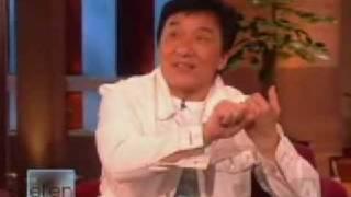 Jackie Chan Ellen show interview