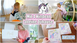 Windel Wettkampf & Einhorn basteln🦄 Geschenke für Baby Moritz | Isabeau